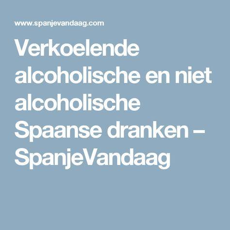 Verkoelende alcoholische en niet alcoholische Spaanse dranken – SpanjeVandaag