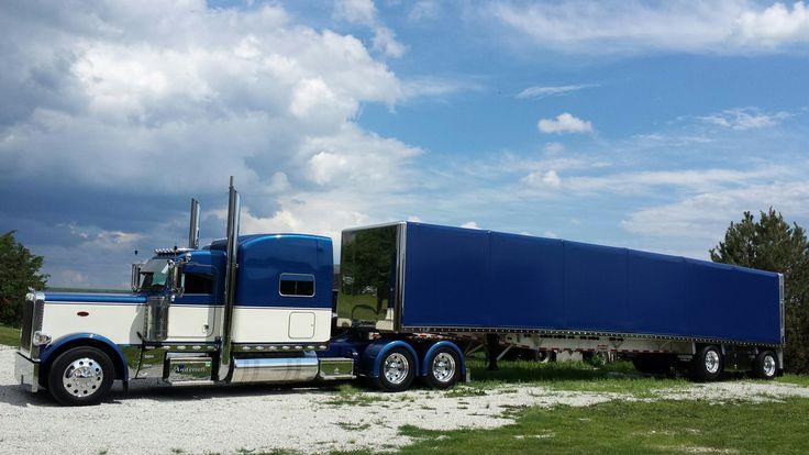 Chromed up steel hauling Peterbilt 389 glider | Overdrive - Owner Operators Trucking Magazine ...