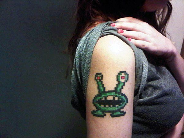 Commander Keen Garg Tattoo. This just made my day!