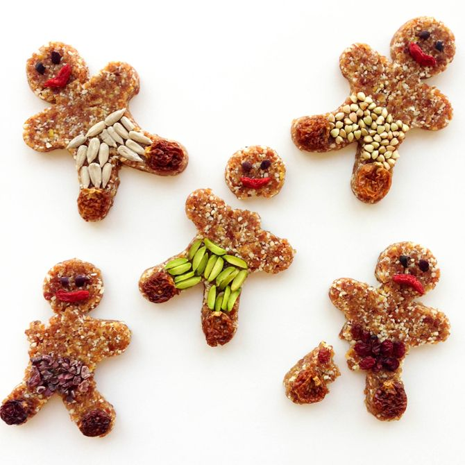 Lemon Gingerbread Men