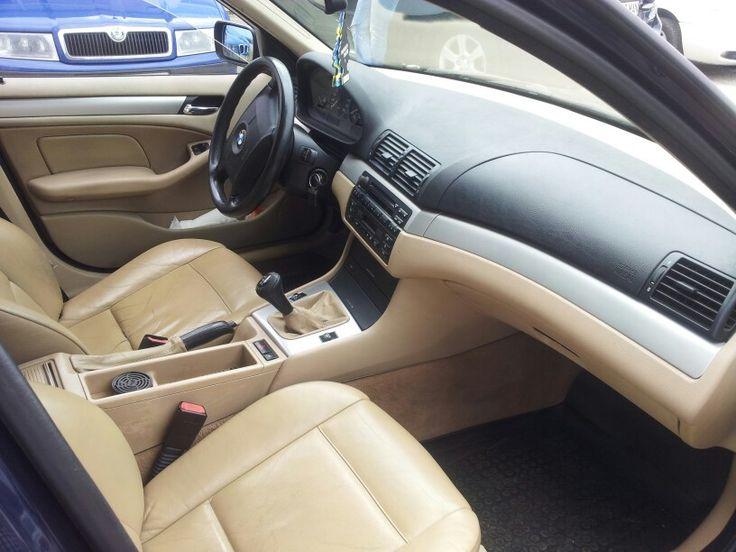 BMW 318i, '02, beige interior