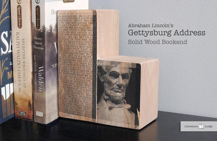 Literary Bookend: Abraham Lincoln's Gettysburg Address
