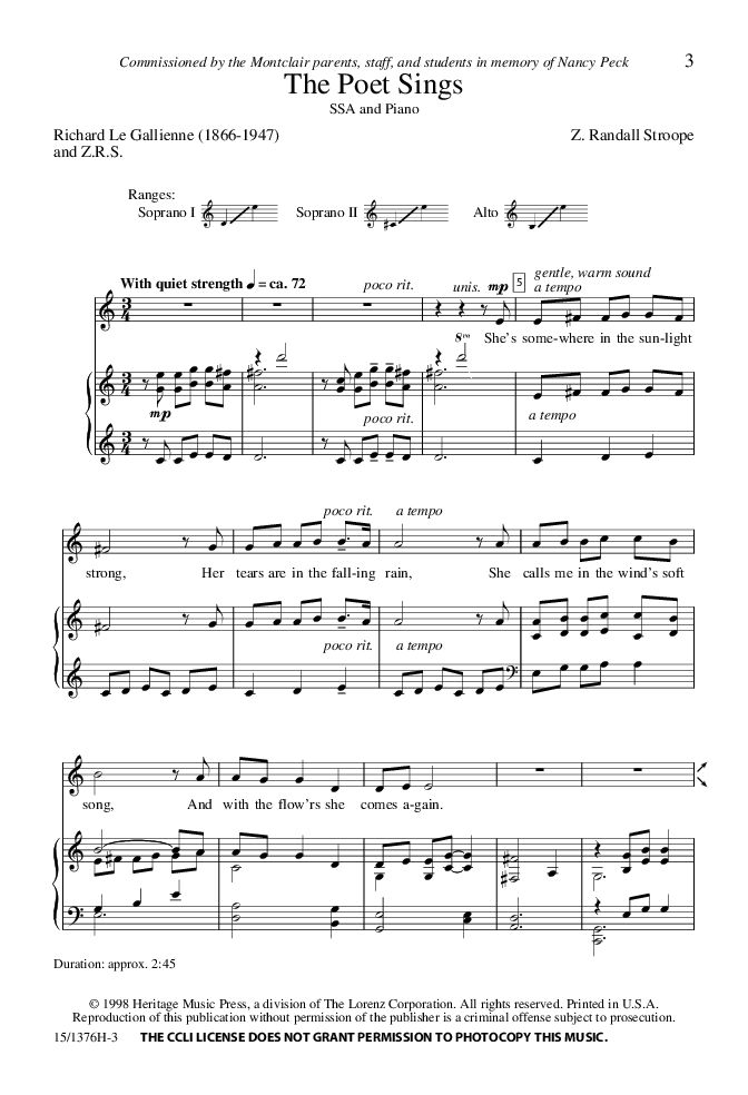 19 best Choral music images on Pinterest | Pepper, Sheet music and ...