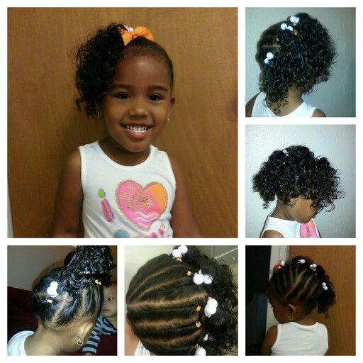 mixed child hair styles twisted the entire 4 ponytails mixed babies miyah 5842