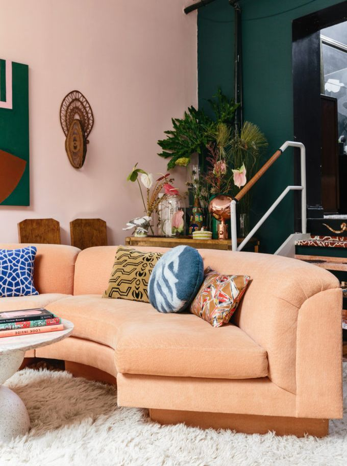 These Two Sisters Live Together In A Color Explosion House Interior Trendy Home Cheap Home Decor
