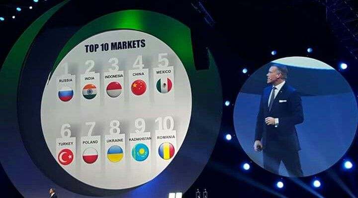 Oriflame Indonesia Top #3 Global. *Diamond Conference 2016