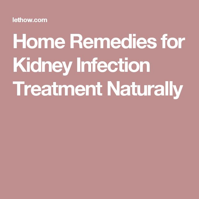 Home Remedies for Kidney Infection Treatment Naturally