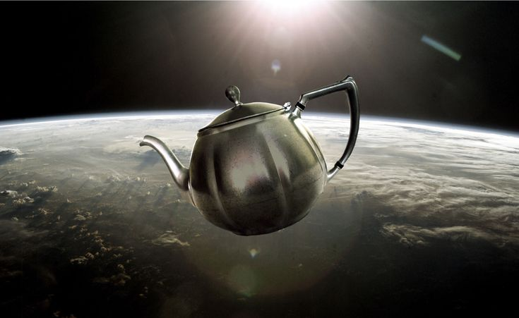 """Why Russell's teapot fails - """"So the argument goes: we cannot conclusively prove that there is not a teapot orbiting the sun somewhere in outer space..."""""""