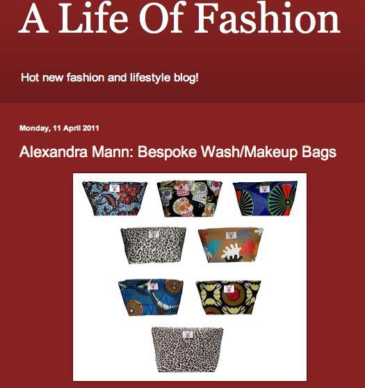 A Life of Fashion blog post  http://alifeof-fashion.blogspot.co.uk