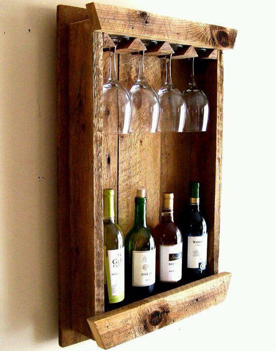1000 ideas about rustic wine racks on pinterest wine for Pallet wine bar