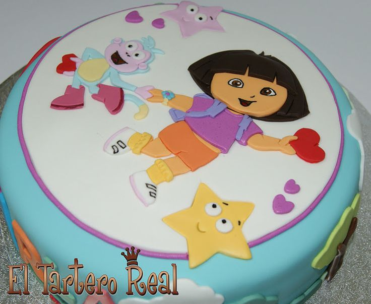 Dora Cake Recipe In English: 83 Best Dora The Explorer Cakes And Cupcakes Images On