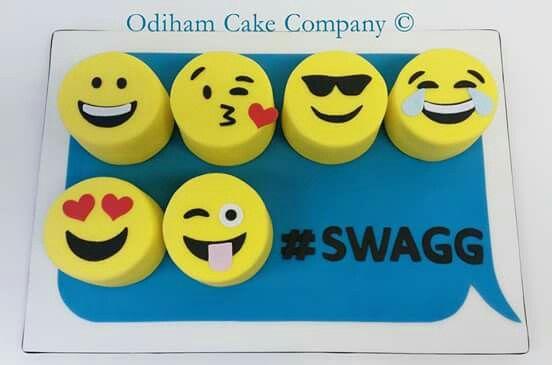 OCC - emoticon, text message cake.  #emoticons #OCC #text #cake