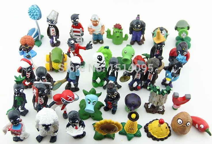 (28.07$)  Buy here - http://aiu8a.worlditems.win/all/product.php?id=32237139446 - 40pcs/set Plants vs Zombies PVC Action Figures 2.5-6.5cm PVZ Collection Figures Toys Gifts plant + zombies PZ015