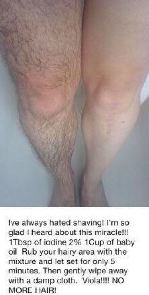 NEVER SHAVE AGAIN