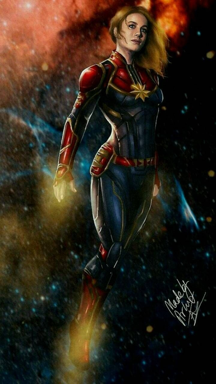 Captain Marvel Wallpaper By Arunc12345 D8 Free On Zedge