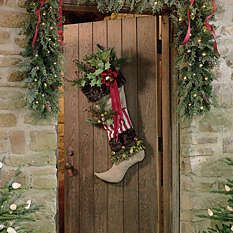 Outdoor Christmas Decorations - Outdoor Christmas Decor - Grandin Road