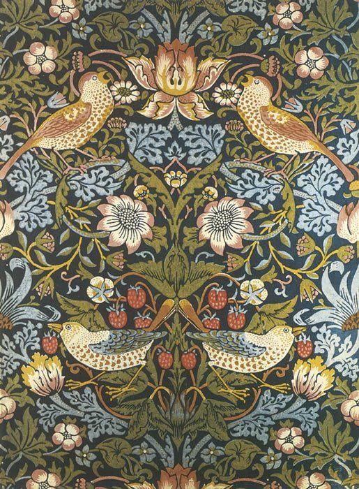Create as delicious designs as did William Morris.