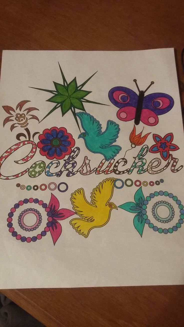Swear word coloring book sarah bigwood -  Swear Words Coloring Book See More We Love Getting Submissions From You Of Your Favourite Colorings