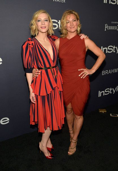 """Zoe Bell Photos - Honoree Cate Blanchett (L) and Zoe Bell attend the Third Annual """"InStyle Awards""""  presented by InStyle at The Getty Center on October 23, 2017 in Los Angeles, California. - InStyle Presents Third Annual 'InStyle Awards' - Red Carpet"""