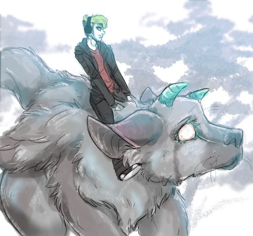 Tumblr<< TRICO!!! I'm watching Jack's play though now- he's so adorable