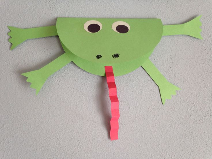 Frog Craft - Princess And The Frog Movie Night Craft ...