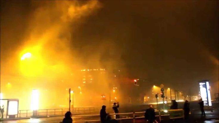BERLIN on Fire 2015 ( Silvester-Berlin ) extrem Feuerwerk