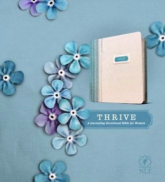 THRIVE: A Journaling Devotional Bible For Women  is a beautiful, shabby-chic Journaling Bible that contains 365 love letters from God along with extra-wide margins that is perfect for note-taking and illustrating your faith! Visit Create With Joy to learn more about this Bible and - if you live in the US - be sure to enter our GIVEAWAY now through June 11, 2017 for a chance to win!