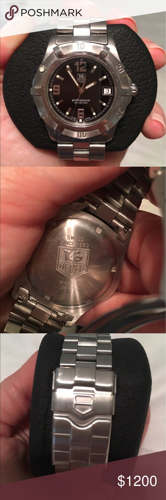 Men's Tag Heuer Watch Men's Tag Heuer Professional 200M Watch Tag Heuer Accessories Watches