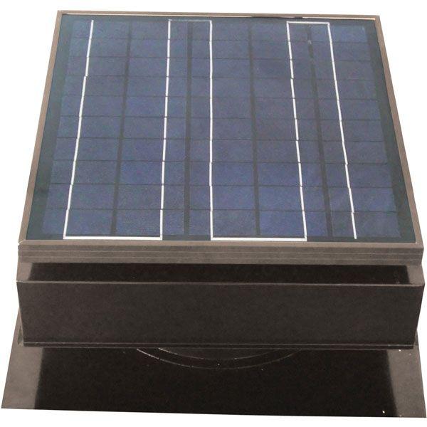 Solar Attic Fan Roof Mount 25 Watt Gray Solar Attic Fan Solar Powered Attic Fan Best Solar Panels