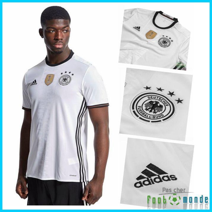 Officielle Nouveau Maillot Allemagne Euro 2016 Domicile