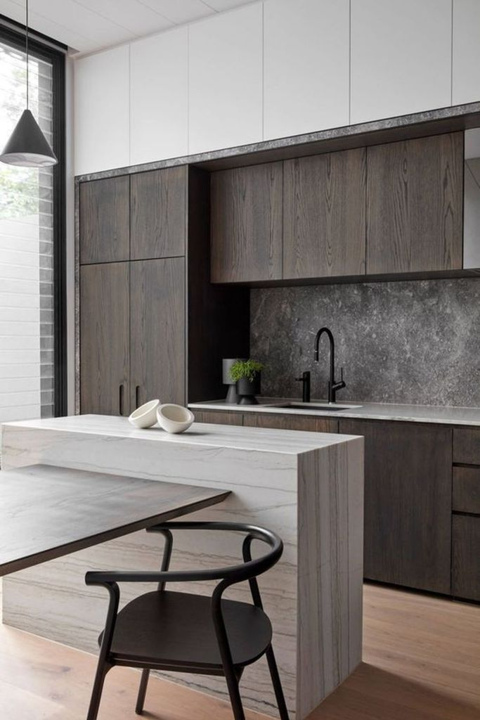 50 Awesome Kitchen Interior Design Ideas With Modern Style Contemporary Kitchen Design Interior Design Kitchen Modern Kitchen Design
