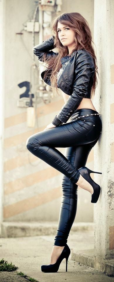 1000+ ideas about Black Leather Pants on Pinterest ...