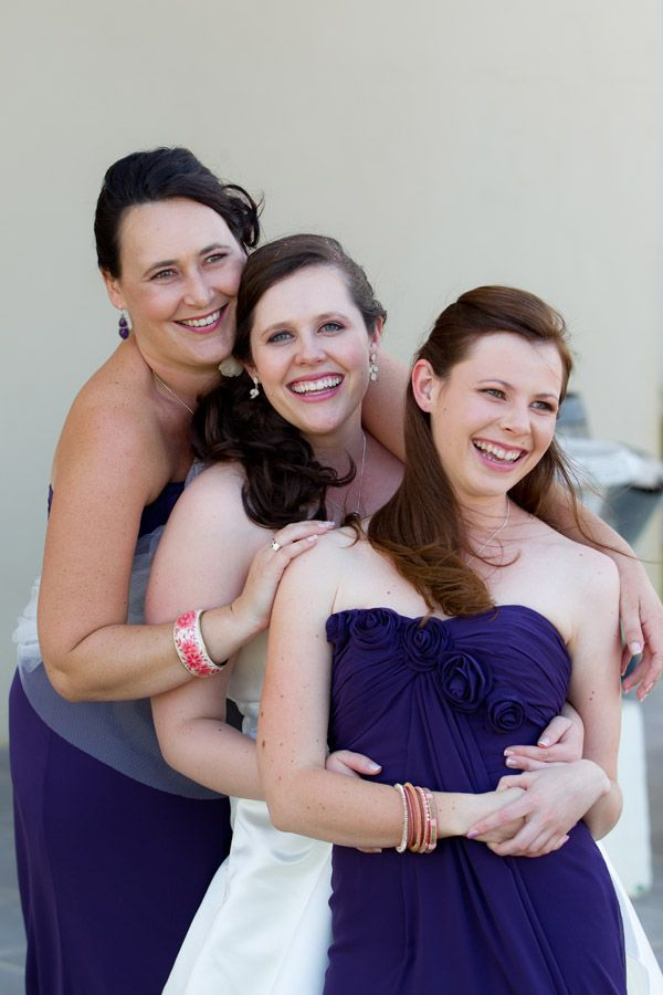 my sisters and bridesmaids