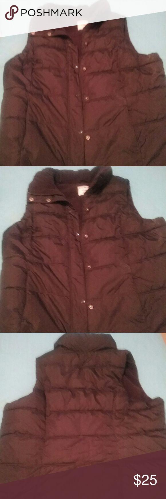 Old Navy vest Black Jackets & Coats Vests