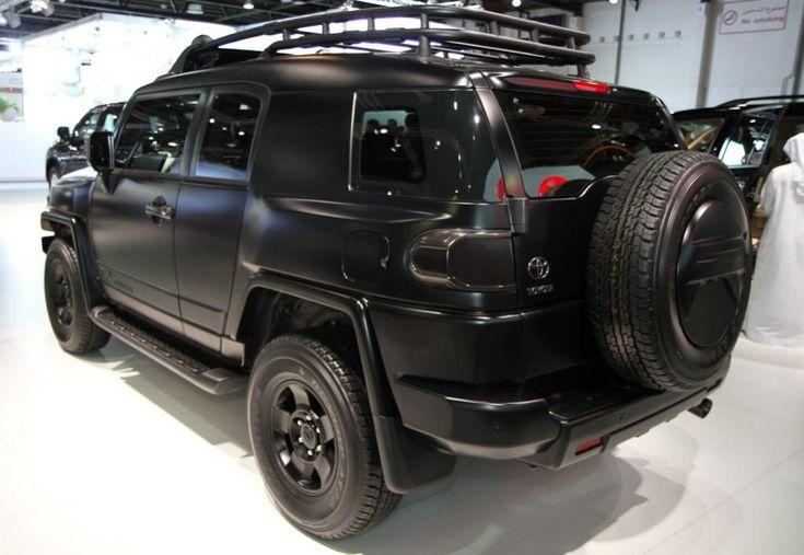 fj cruiser black   Re: Has anyone seen a flat black FJ Cruiser?