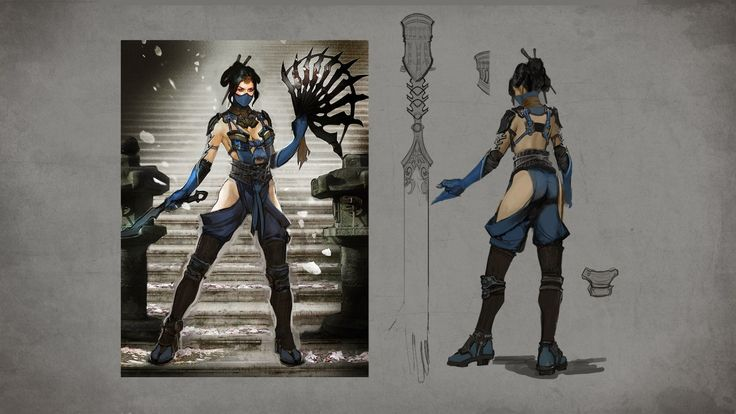 New Mortal Kombat X Concept Art Features Kitana, Reptile - IGN