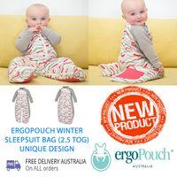 ergoPouch Winter Sleepsuit Bag (2.5 TOG)