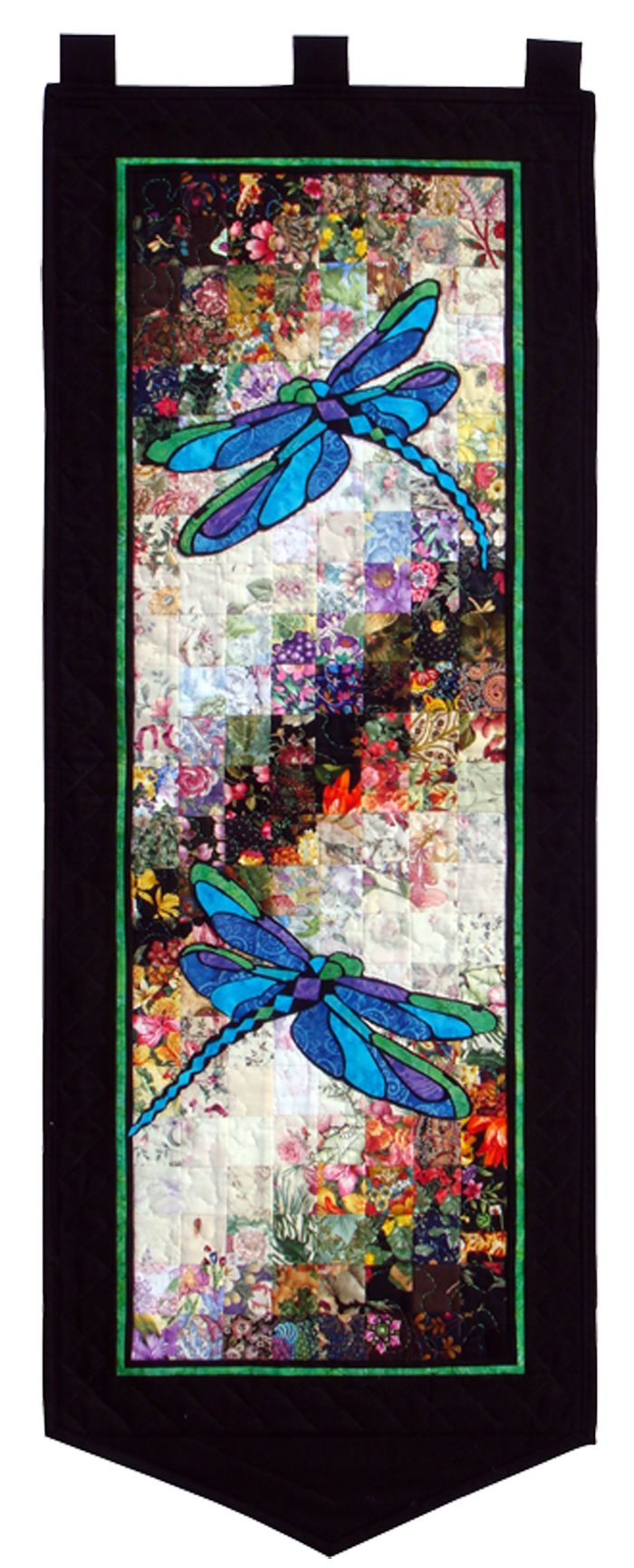 Easy & fun kit for Spring or Summer. Stained Glass Dragonflies Quilt Kit WHIM-211 by Whims Watercolor Quilt Kits - Susan Stutzman. Check out our seasonal patterns. https://www.pinterest.com/quiltwomancom/seasonal-patterns/ Subscribe to our mailing list for updates on new patterns and sales! https://visitor.constantcontact.com/manage/optin?v=001nInsvTYVCuDEFMt6NnF5AZm5OdNtzij2ua4k-qgFIzX6B22GyGeBWSrTG2Of_W0RDlB-QaVpNqTrhbz9y39jbLrD2dlEPkoHf_P3E6E5nBNVQNAEUs-xVA%3D%3D