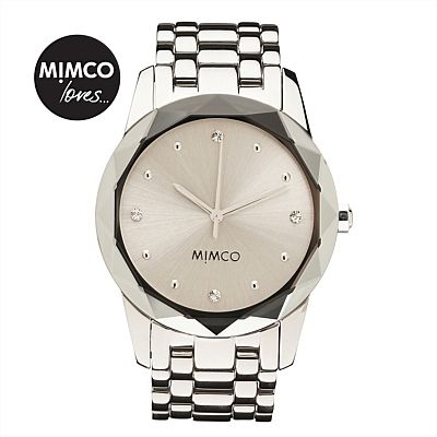 LARGE ROUND GLIMMER WATCH #mimcomuse