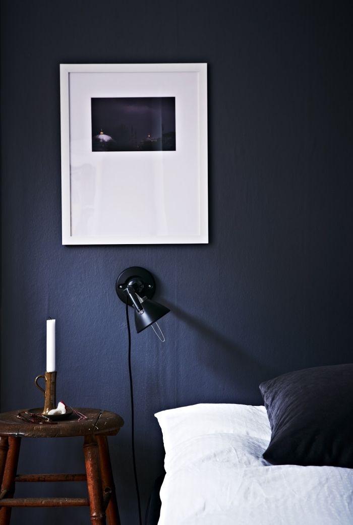 1001 Exemples Impressionnants De La Chambre Bleu Nuit Moderne Chambre Bleu Chambre Bleue Nuit Decor Chambre A Coucher