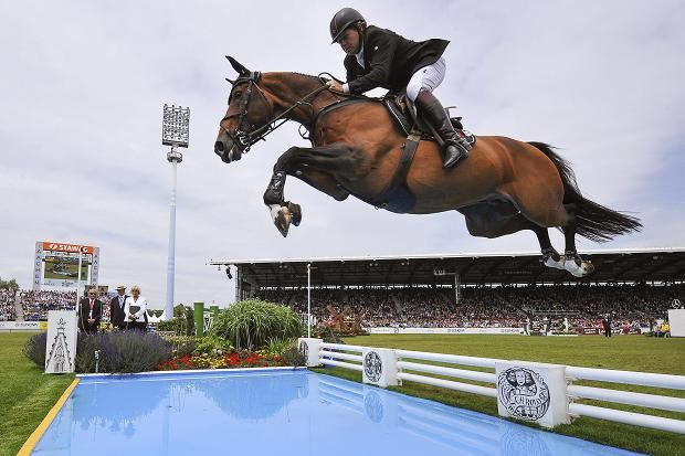 Nick Skelton Equals Record with Fourth Victory in Rolex Grand Prix | Nick Skelton and Big Star, his London 2012 team gold medal-winner, extended their formidable list of successes on June 30th, when they won the Rolex Grand Prix, the closing event of the Aachen World Equestrian Festival.