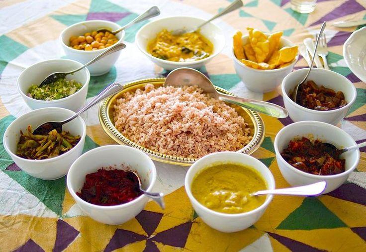 【写真】ジェフリー・バワのレシピでいただくスリランカ・カレー