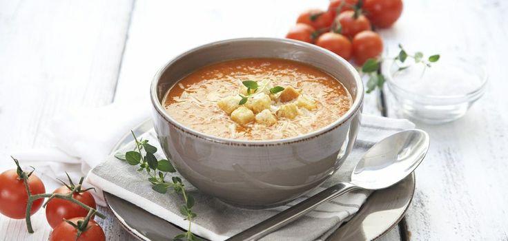 Hjemmelaget tomatsuppe med chili Foto: Synøve Dreyer, Frukt.no