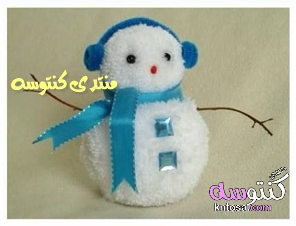 طريقة عمل رجل الثلج خطوة بخطوة اعمال يدوية طريقة عمل رجل التلج للاطفال بالصوف كيف تصنع رجل الثلج Kntosa Com 31 19 154 Diy Crafts Holiday Decor Crafts