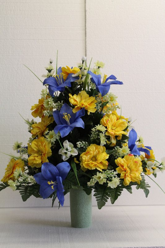 Image Result For Flower Arrangements For Graves For The Cemetery Flower Arrangements