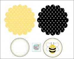 All sorts of free bumblebee printables.  Maybe for Mia's summer birthday?