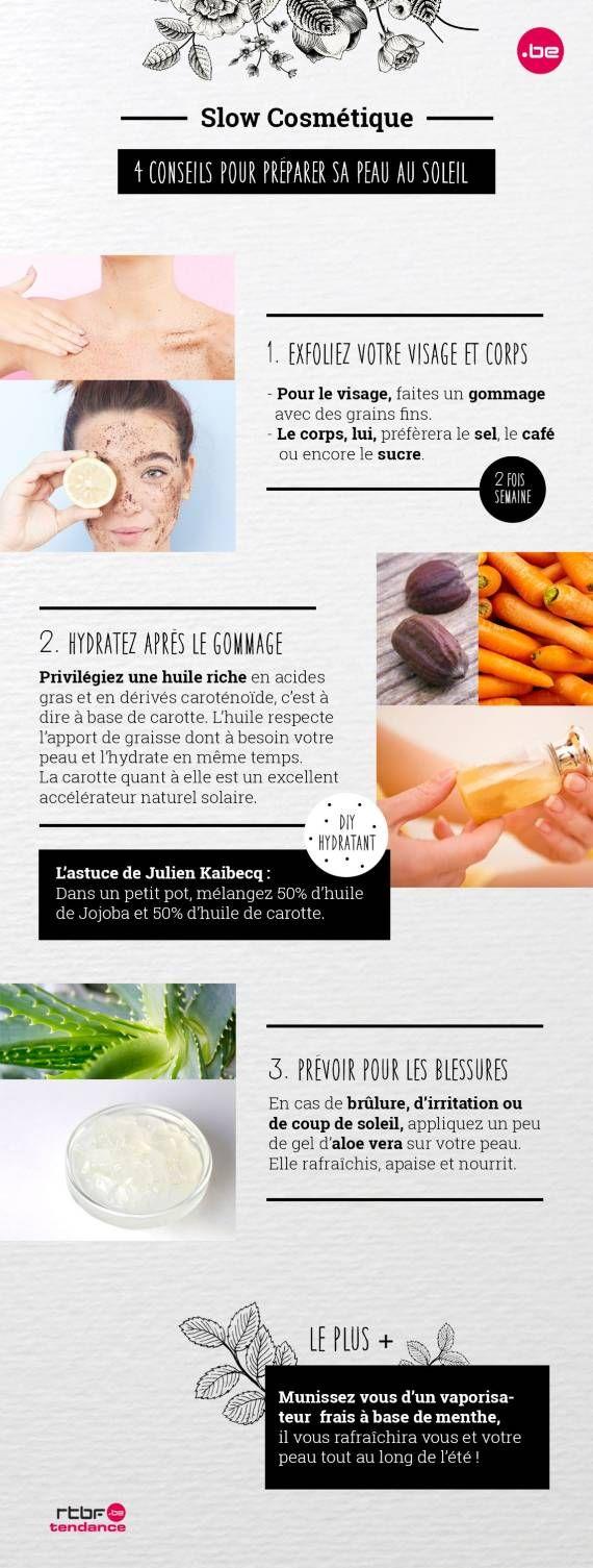 DIY Beauté : 4 conseils pour préserver votre peau du soleil - RTBF Tendance