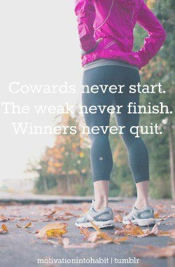 Winners never quit.Inspiration Nike, Designer Handbags, Awesome Quotes, Nike Women, Pre Workout Inspiration, Keep Running, Challenge Accepted, Prek Workout Inspiration, Exercise Fit