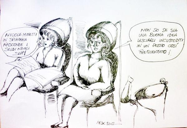 #VIGNETTA: La cassaforte di Nicole #Minetti