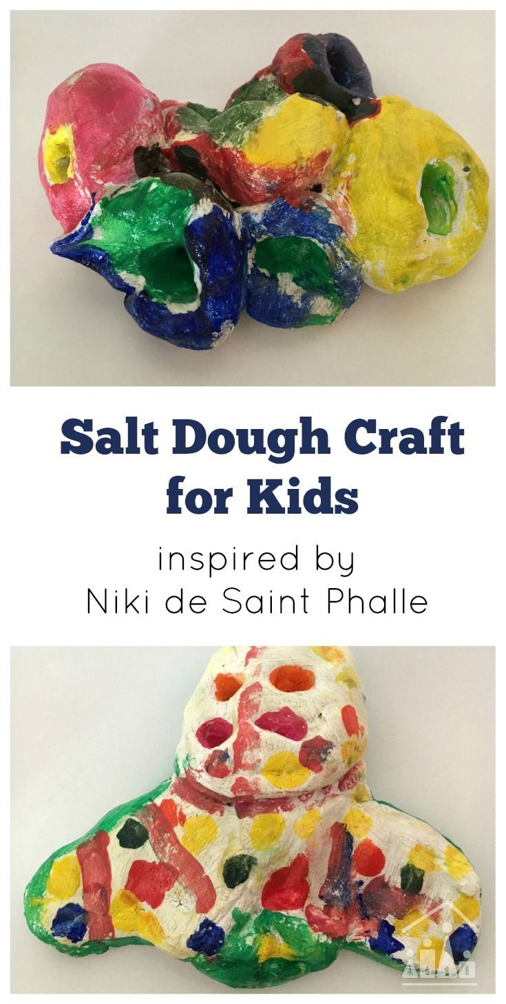 Super salt dough craft for father 39 s day crafts mothers for Salt dough crafts figures